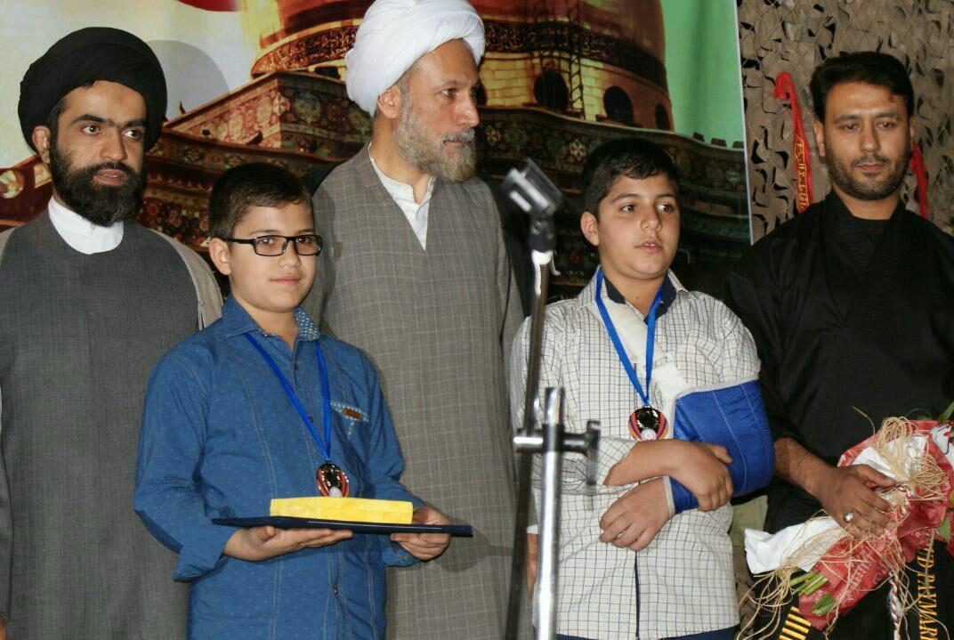 کاروان یاد شهدا مسجد حضرت علی